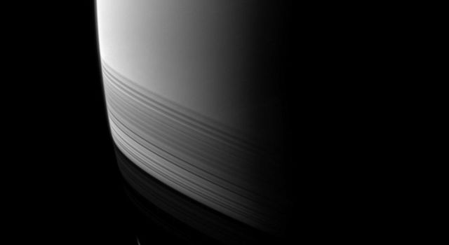 NASA's Cassini spacecraft watches as the shadows of Saturn's rings grow wider and creep farther south as the seasons progress from the planet's August 2009 equinox.