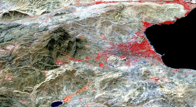 NASA Images Topography of Quake-Stricken Eastern Turkey