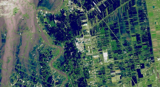 NASA Spacecraft Images Continued Thailand Flooding