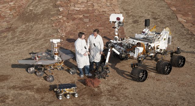 Three Generations of Rovers with Standing Engineers