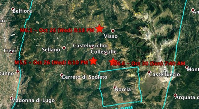 NASA's Damage Proxy Map to Assist with Italy Earthquake Disaster Response