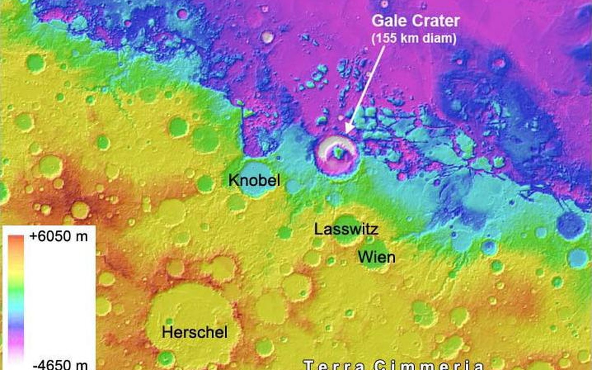 Space Images Search NASA Jet Propulsion Laboratory - Altimeter map