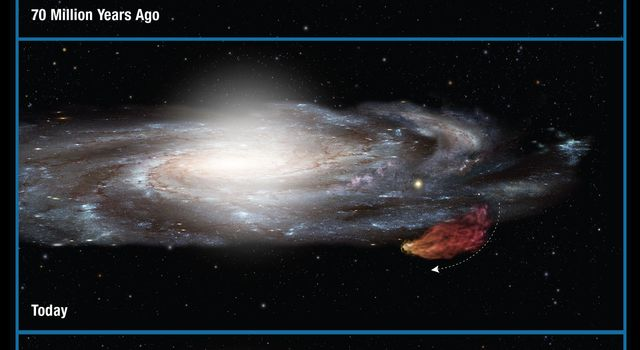 Monstrous Cloud Boomerangs Back to Our Galaxy (Artist