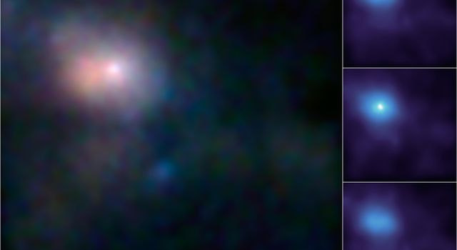 These images, taken by NASA's black-hole hunter, NuSTAR, are the first, focused high-energy X-ray views of the area surrounding the supermassive black hole, called Sagittarius A*, at the center of our galaxy.
