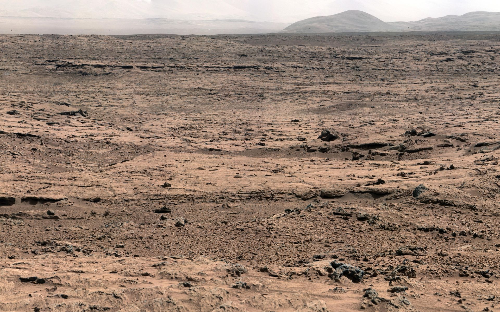 Space Images | Panoramic View From 'Rocknest' Position of ...