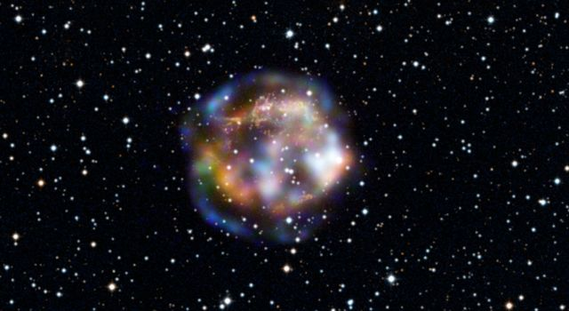 Sizzling Remains of a Dead Star