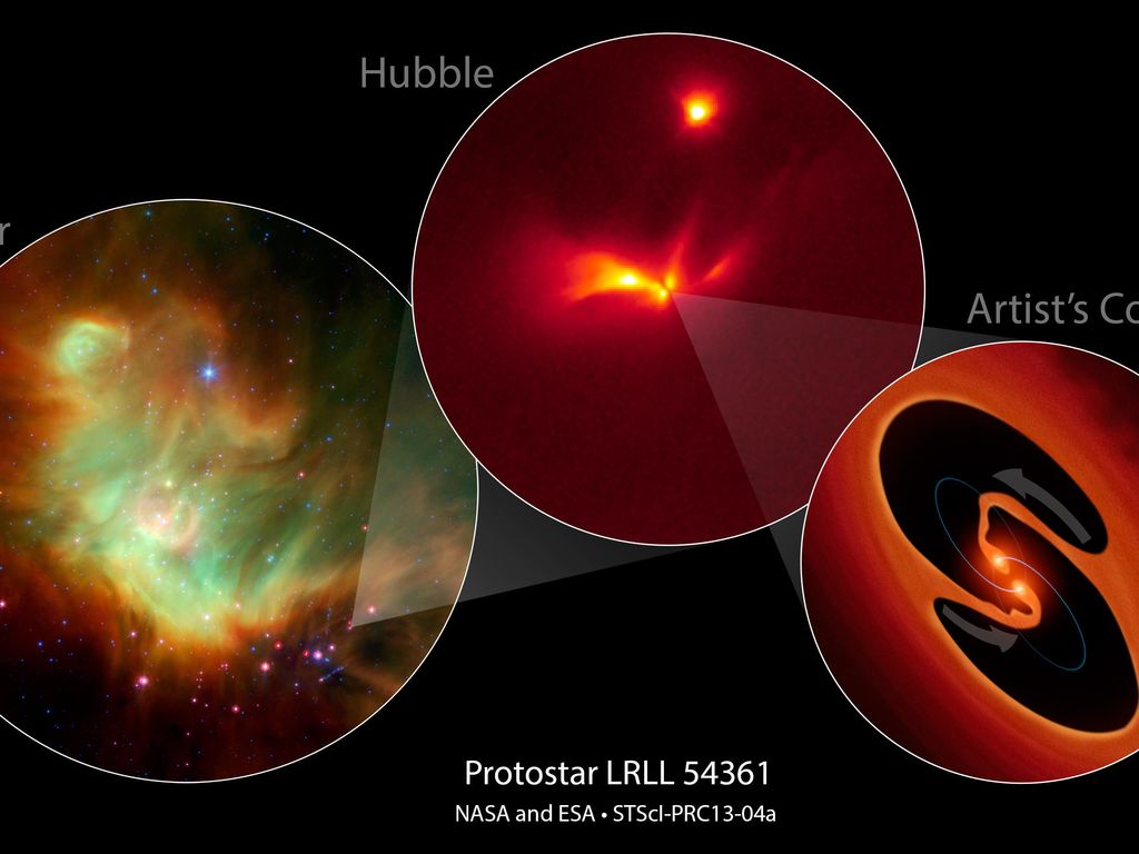 Space Images Protostar Lrll 54361