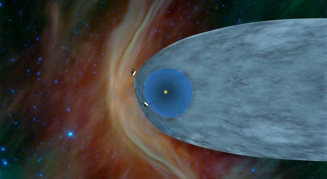 One Voyager Out, One Voyager In (Artist Concept)