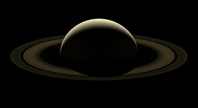 After more than 13 years at Saturn, and with its fate sealed, NASA's Cassini spacecraft bid farewell to the Saturnian system by firing the shutters of its wide-angle camera and capturing this last, full mosaic of Saturn and its rings.