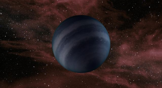 This artist's concept portrays a free-floating brown dwarf, or failed star. A new study using data from NASA's Spitzer Space Telescope shows that several of these objects are warmer than previously thought.