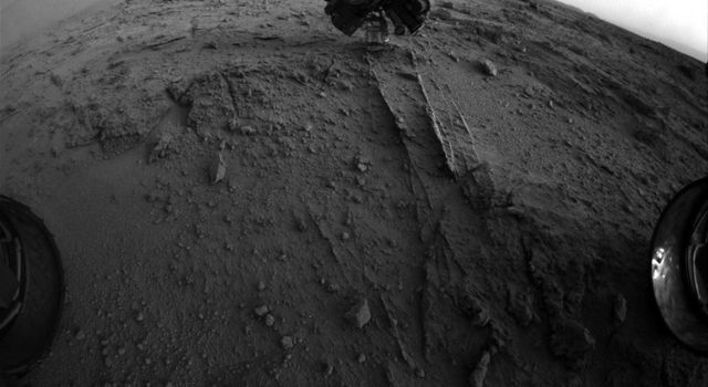 NASA's Mars rover Curiosity used a new technique, with added autonomy for the rover, in placement of the tool-bearing turret on its robotic arm. The technique is used to assess how close the instrument is to a soil or rock surface.