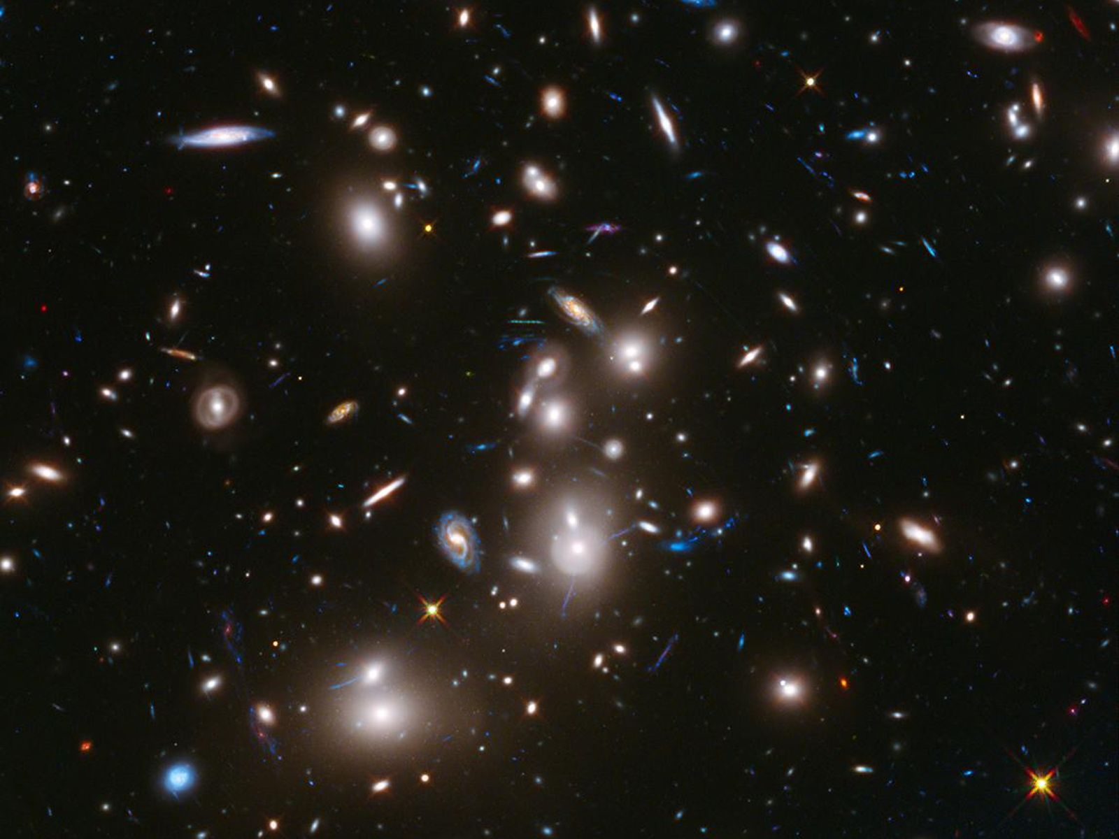 space images | hubble frontier field abell 2744