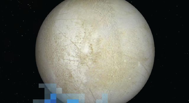 Water Vapor Over Europa