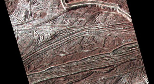 Cracks and Ridges on Europa