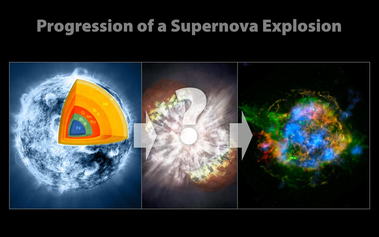 Space Images | Evolution of a Supernova