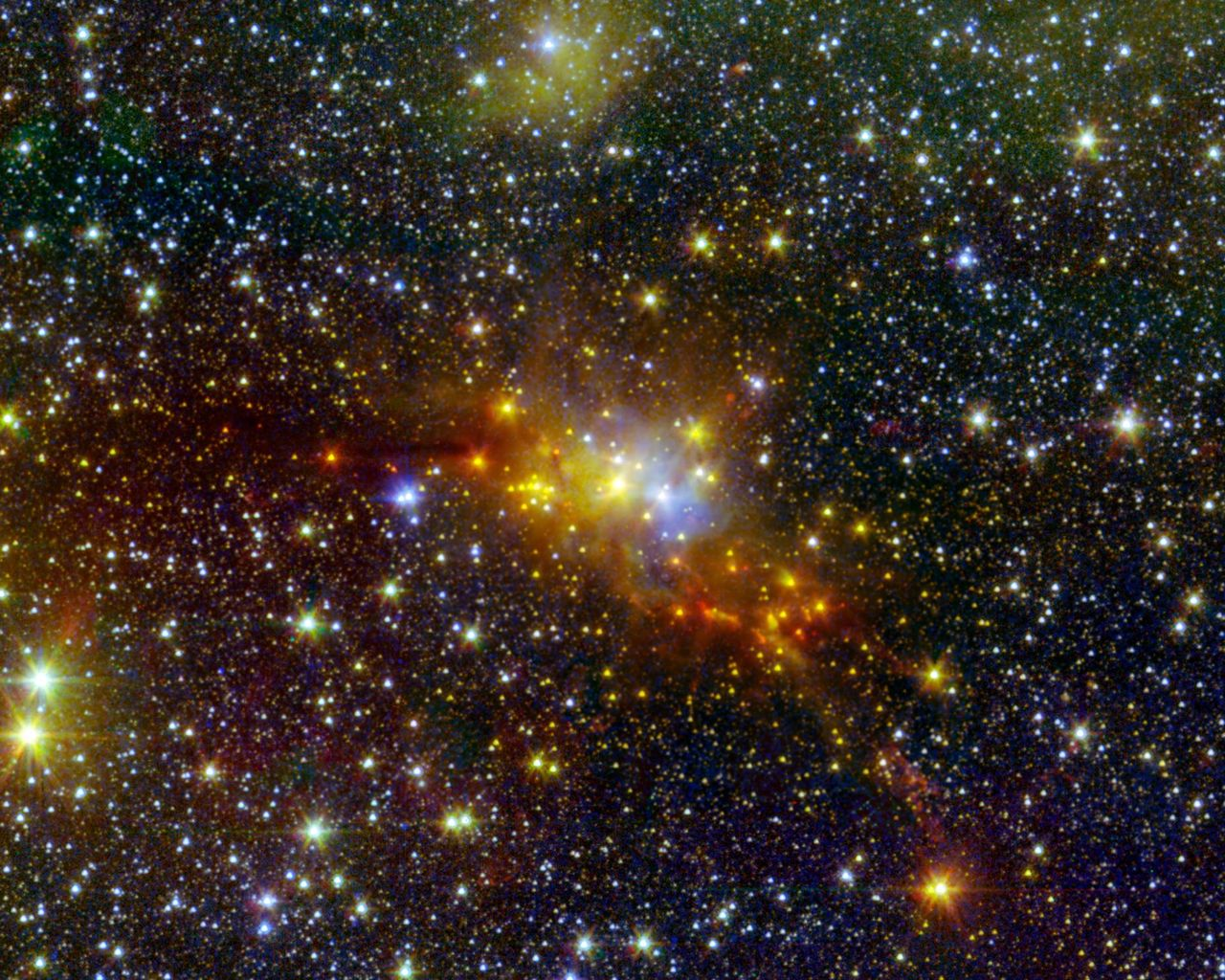 Space Images | The 'Serpent' Star-Forming Cloud Spawns Stars