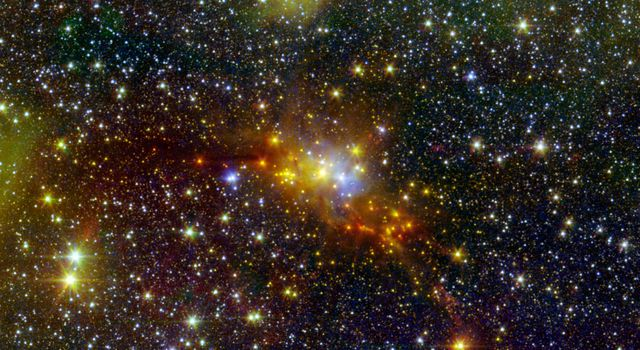 The 'Serpent' Star-Forming Cloud Spawns Stars