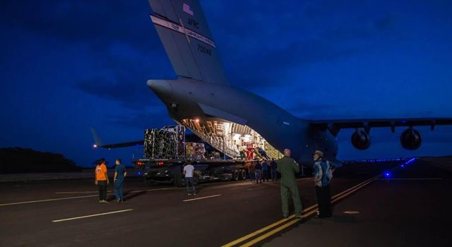 LDSD Test Device Arrives in Hawaii