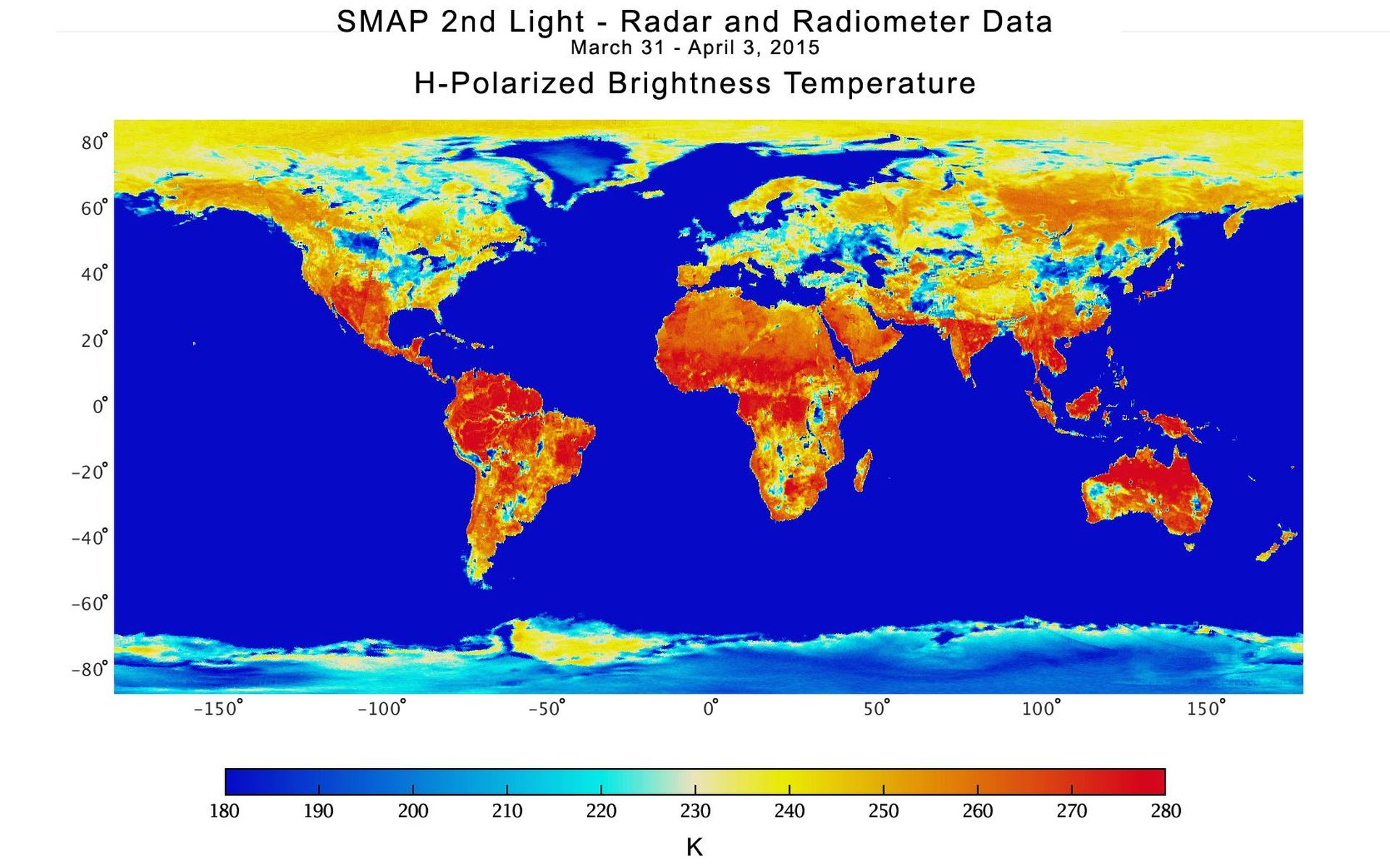 Space Images | NASA Soil Moisture Mission Produces First ...