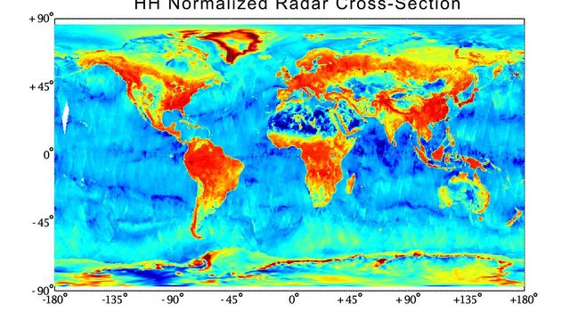With its antenna now spinning at full speed, NASA's new Soil Moisture Active Passive (SMAP) observatory has successfully re-tested its science instruments and generated its first global maps.