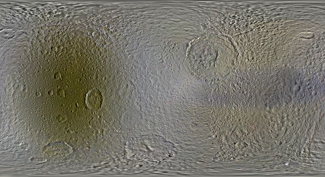 Color Maps of Tethys - 2014
