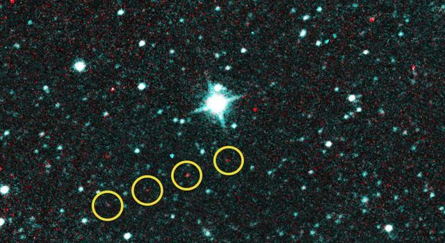 NEOWISE Spots Comet Catalina
