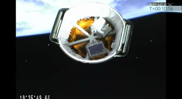 Second Stage Separation