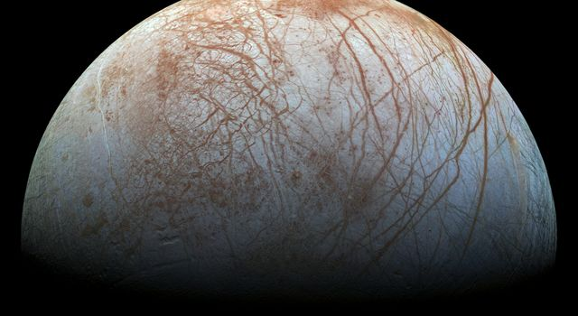 Europa's Stunning Surface