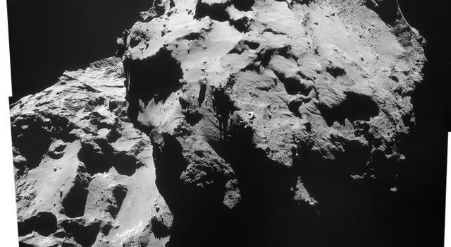 December 2014 View of Comet 67P/Churyumov-Gerasimenko