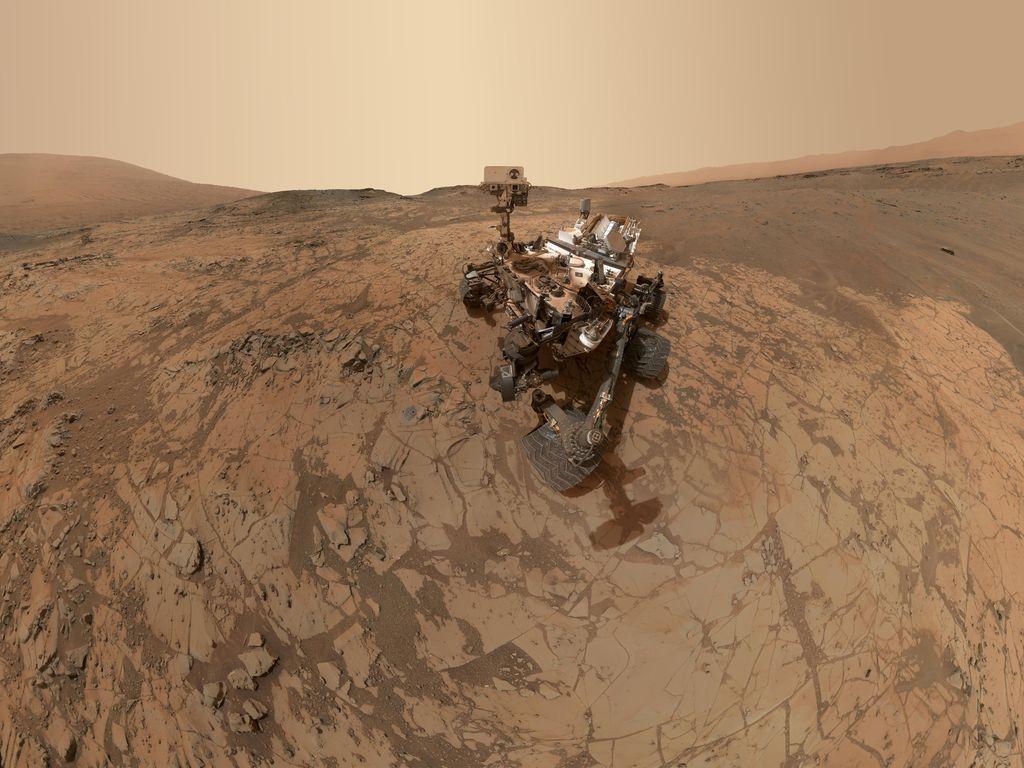 Залежи кварца на Марсе