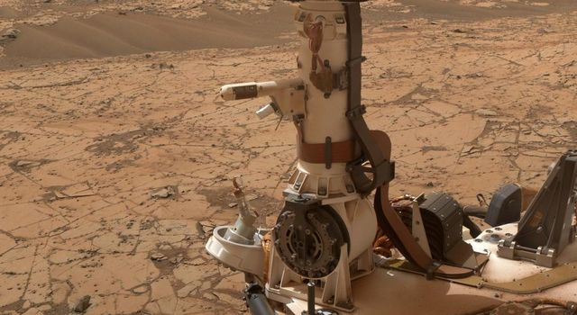 Mars Weather-Station Tools on Rover