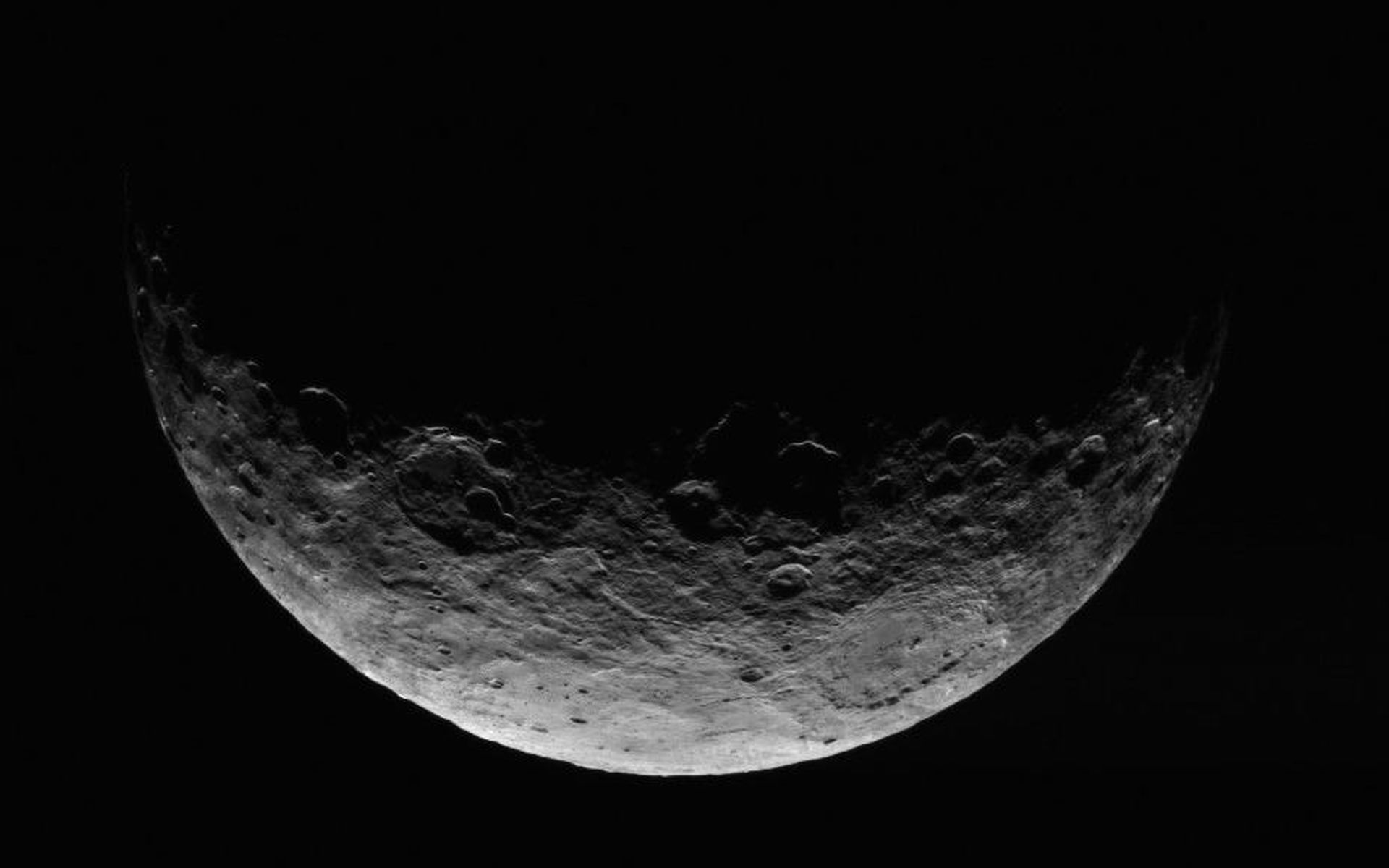 This Image Of Ceres Is Part A Sequence Taken By NASAs Dawn Spacecraft April 24