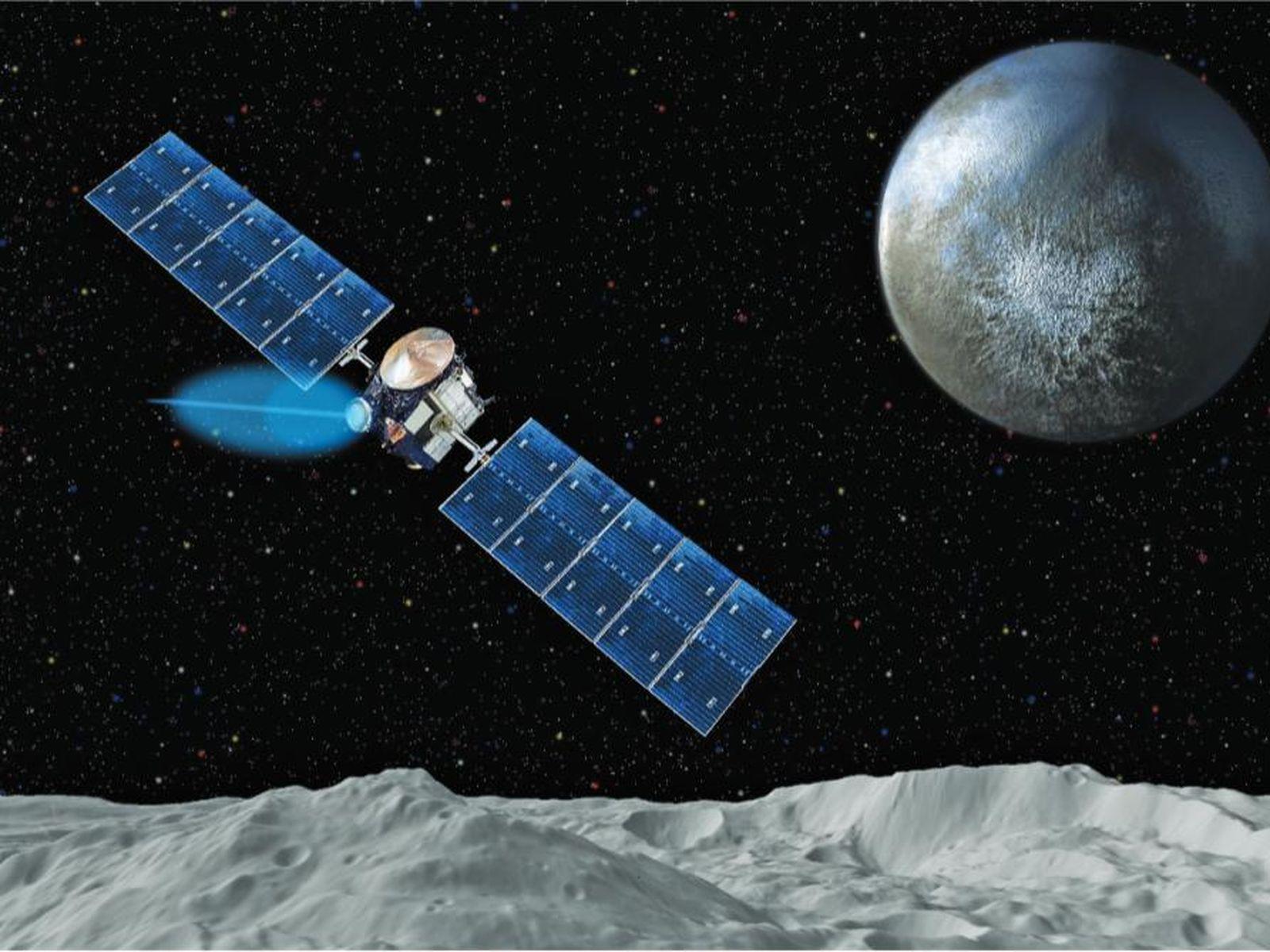 nasa dawn spacecraft diagram - photo #40