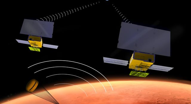 Interplanetary CubeSat for Technology Demonstration at Mars (Artist's Concept)