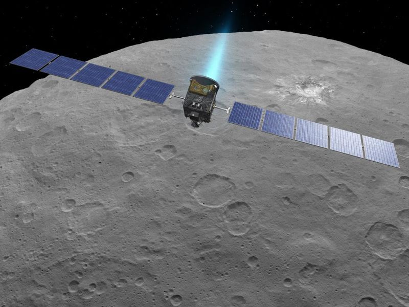 dawn mission at ceres
