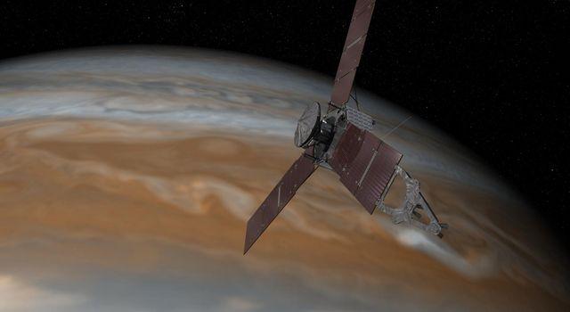 Juno's Arrival at Jupiter (Artist's Concept)
