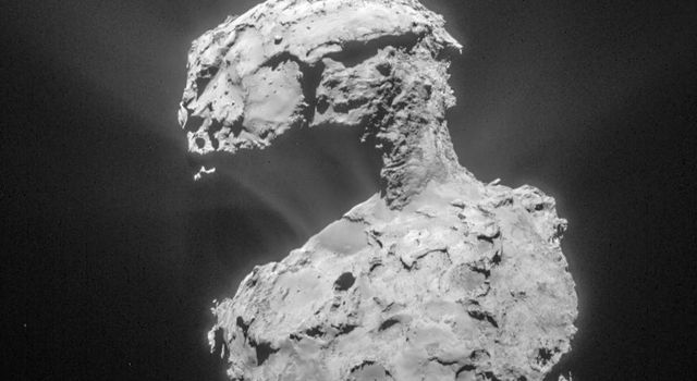 Rosetta Comet Marches On