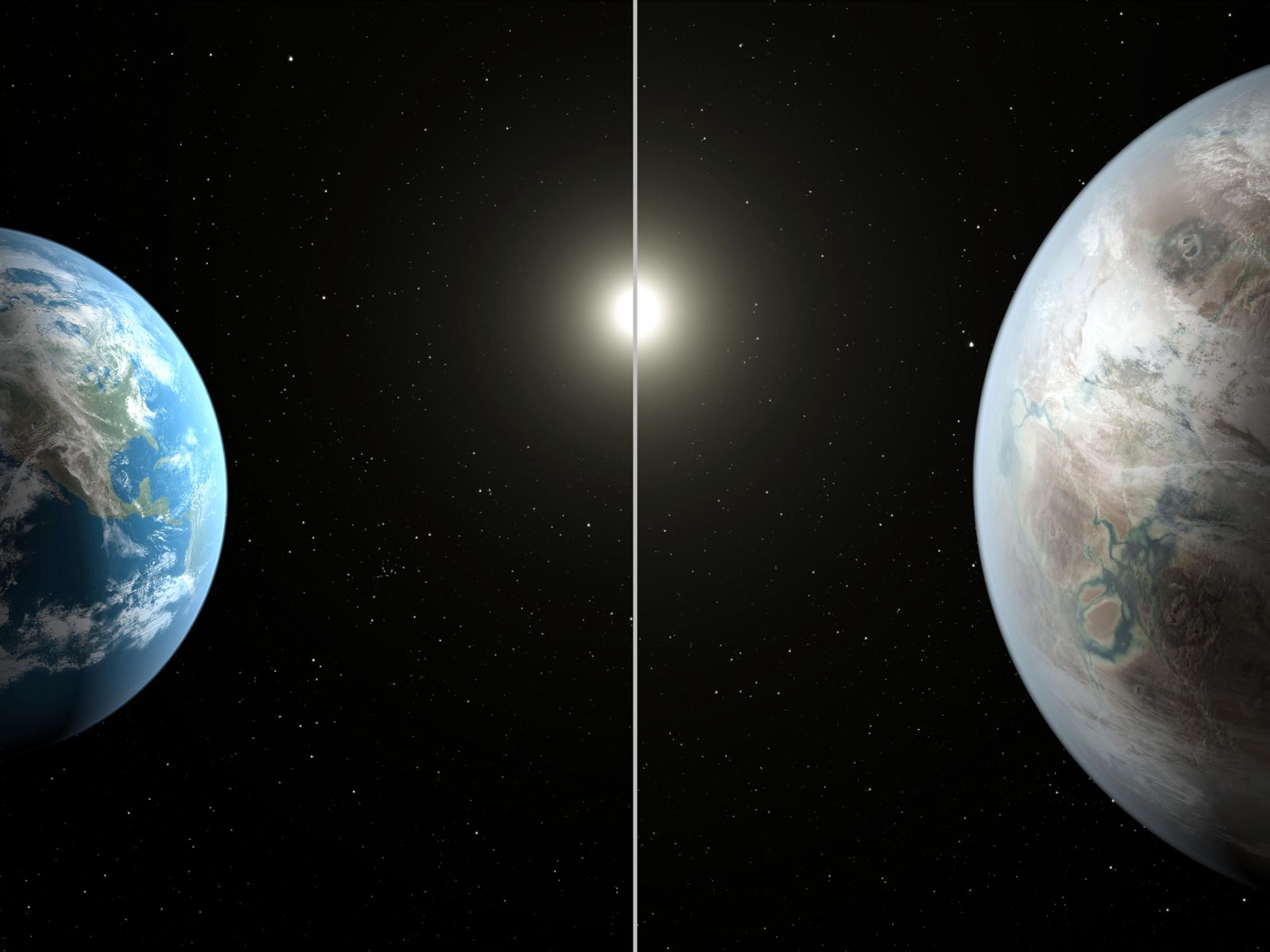 Space Images | Earth's Bigger, Older Cousin (Artist's Concept)