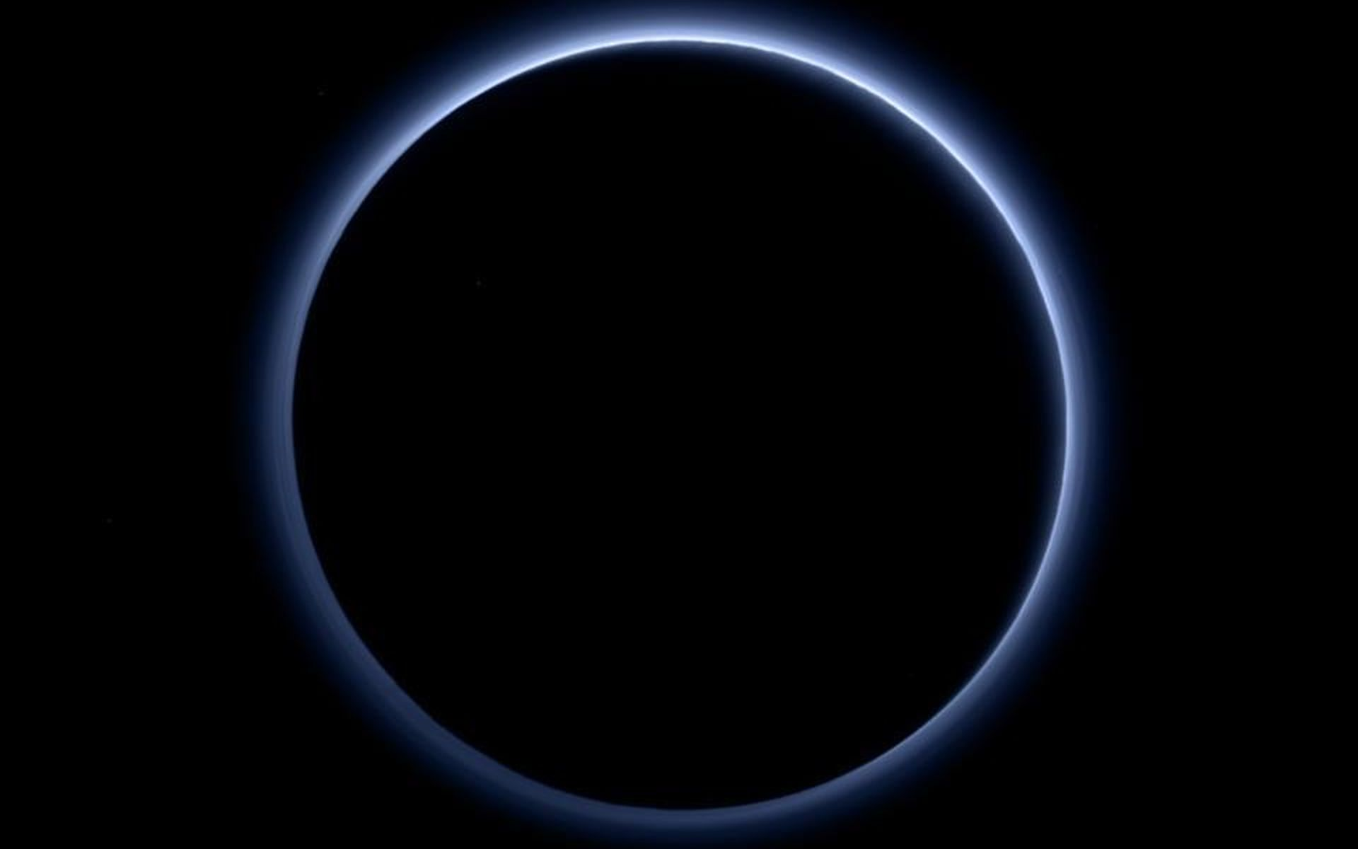 Space Images | Pluto's Blue Sky
