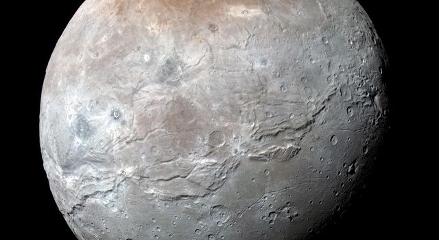 Charon in Enhanced Color