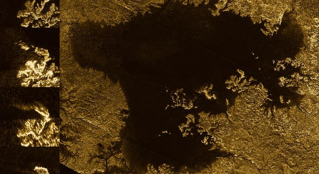 Mystery Feature Evolves in Titan