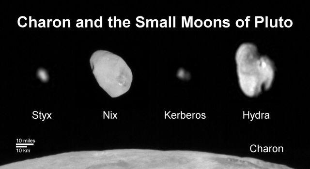 Kerberos Moon Of Plluto: Pluto In 3-D