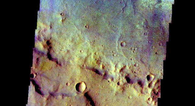 Crater - False Color
