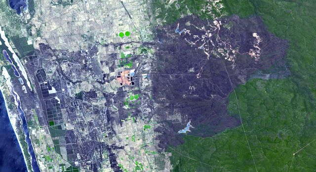 Effects of Devastating Australian Bushfires Seen by NASA Spacecraft