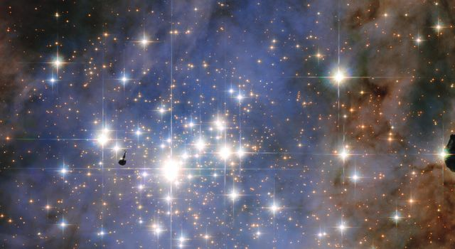 Hubble Unveils a Tapestry of Dazzling Diamond-Like Stars