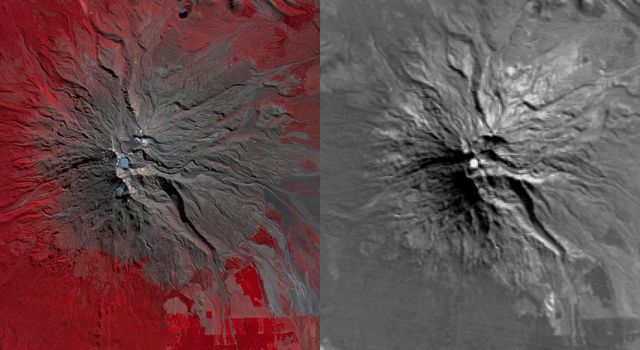 NASA's Terra spacecraft reveals signs of life in New Zealand's Mount Ruapehu Volcano which has been on a level 1 volcanic alert for some time, indicating minor volcanic unrest.