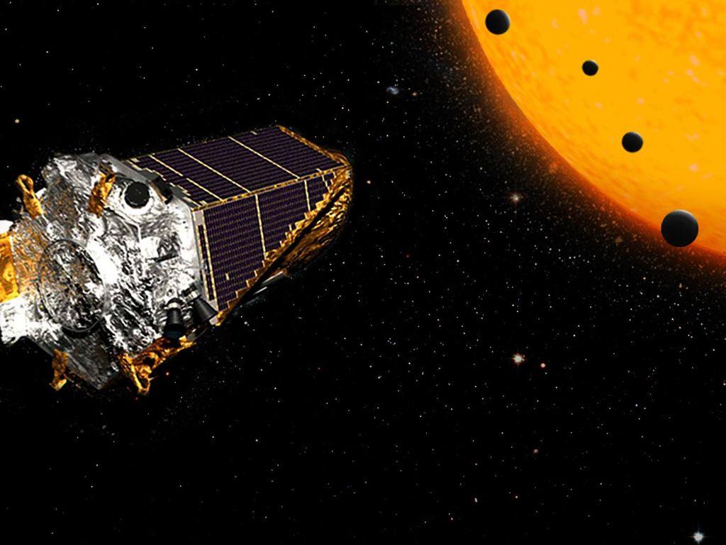 artist concept of the Kepler telescope