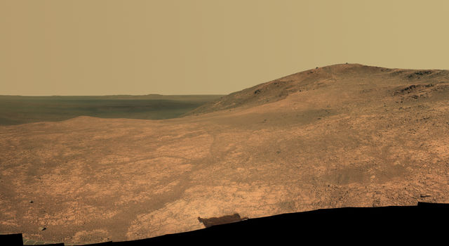 Mars Rover Opportunity's Panorama of 'Marathon Valley'