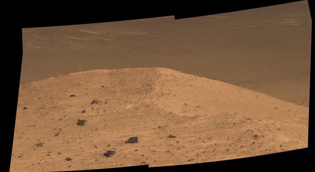 'Spirit Mound' at Edge of Endeavour Crater, Mars