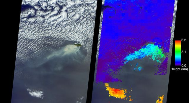 Deadly Fires Engulfing Madeira seen by NASA